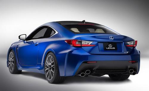 Lexus RC F siêu mạnh với động cơ V8 - 2