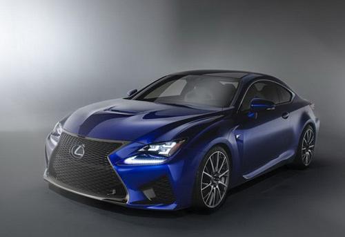 Lexus RC F siêu mạnh với động cơ V8 - 3
