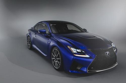 Lexus RC F siêu mạnh với động cơ V8 - 4