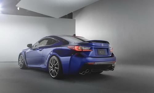 Lexus RC F siêu mạnh với động cơ V8 - 6