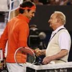 Thể thao - Federer đọ vợt với huyền thoại Rod Laver