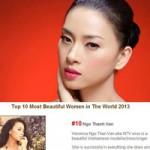Phim - Vân Ngô lọt top 10 người đẹp nhất thế giới 2013
