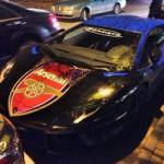 Ô tô - Xe máy - Siêu xe Aventador của Fans cuồng Arsenal