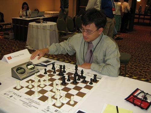 Đại kiện tướng Từ Hoàng Thông giành HCV Giải cờ vua Australia 2014 - 1
