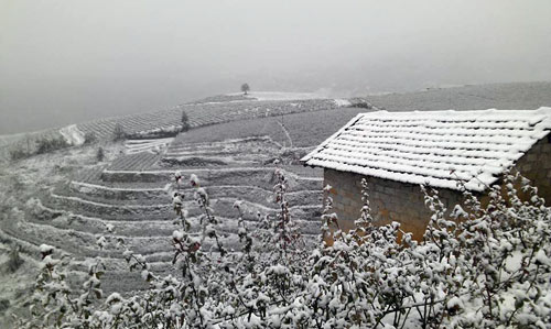 Không khí lạnh có thể phủ tuyết lên Hoàng Liên Sơn - 1