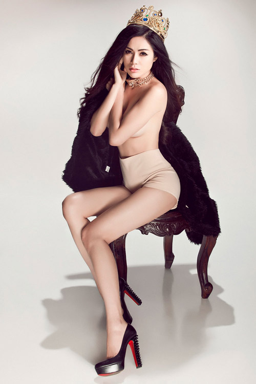 Hoa hậu gốc Việt tại Mỹ bán nude nóng bỏng - 1