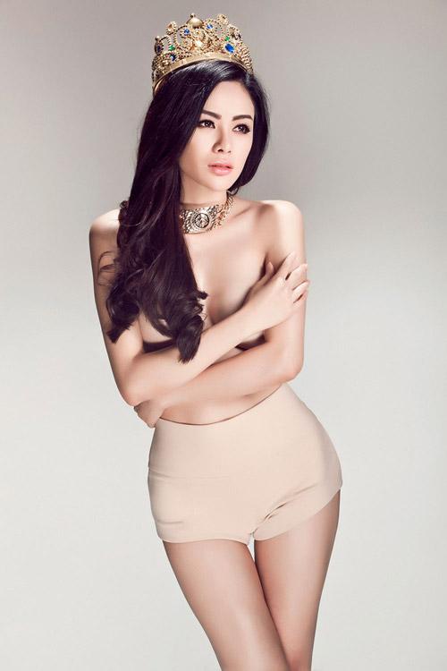 Hoa hậu gốc Việt tại Mỹ bán nude nóng bỏng - 3