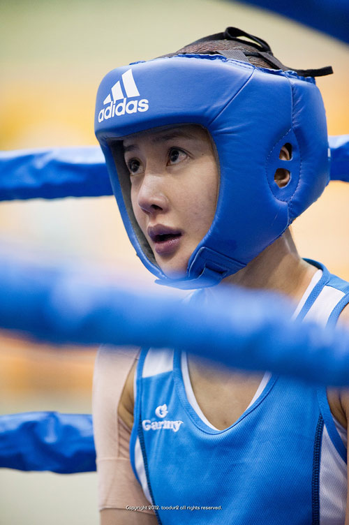Võ sĩ boxing xứ Hàn nổi tiếng vì quá xinh đẹp - 6