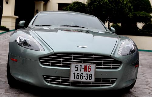 "Aston Martin Rapide ""nữ hoàng"" sedan - 1"