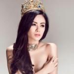 Thời trang - Hoa hậu gốc Việt tại Mỹ bán nude nóng bỏng