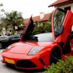 Ô tô - Xe máy - Cận cảnh Lamborghini Murcielago của đại gia Hà Thành