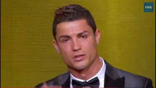 Ronaldo đoạt QBV FIFA 2013 - 2