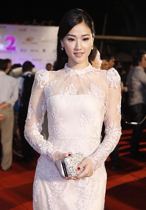 Vân Trang, Victor Vũ lạnh nhạt sánh đôi - 13