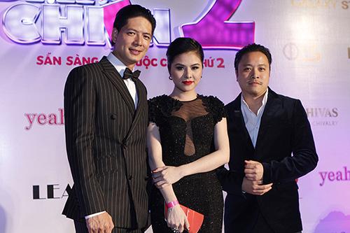 Vân Trang, Victor Vũ lạnh nhạt sánh đôi - 9