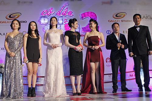 Vân Trang, Victor Vũ lạnh nhạt sánh đôi - 1