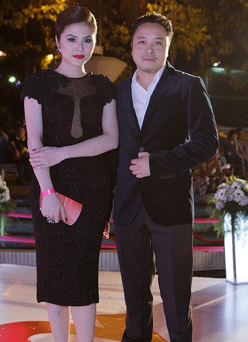 Vân Trang, Victor Vũ lạnh nhạt sánh đôi - 8