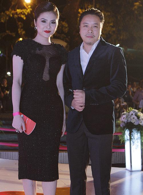 Vân Trang, Victor Vũ lạnh nhạt sánh đôi - 2