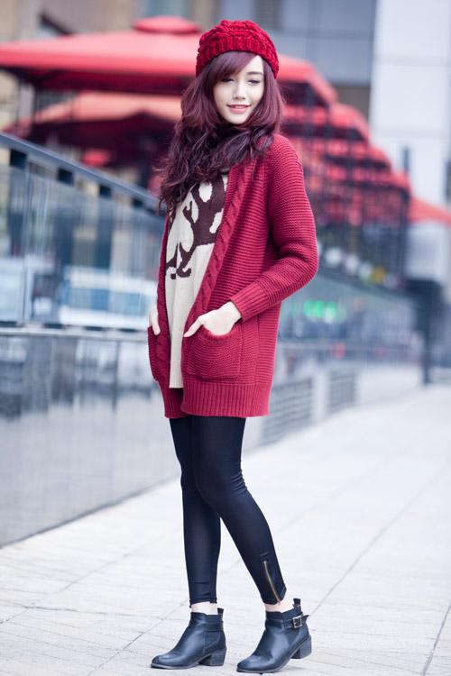 Rạng ngời, cuốn hút như nàng sinh viên tóc đỏ - 4
