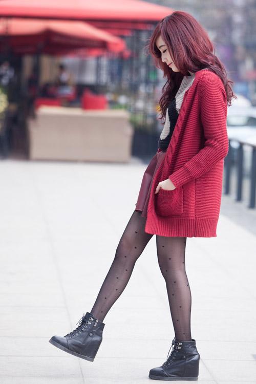 Rạng ngời, cuốn hút như nàng sinh viên tóc đỏ - 8