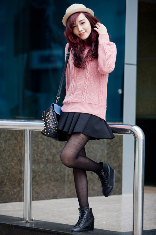 Rạng ngời, cuốn hút như nàng sinh viên tóc đỏ - 9