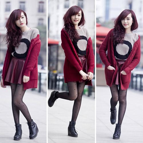 Rạng ngời, cuốn hút như nàng sinh viên tóc đỏ - 7