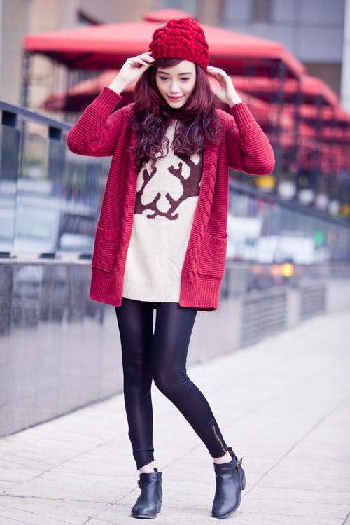Rạng ngời, cuốn hút như nàng sinh viên tóc đỏ - 5