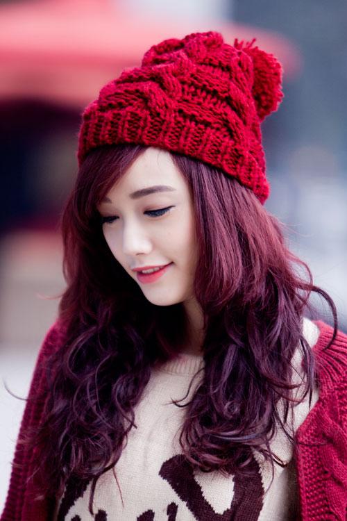 Rạng ngời, cuốn hút như nàng sinh viên tóc đỏ - 1