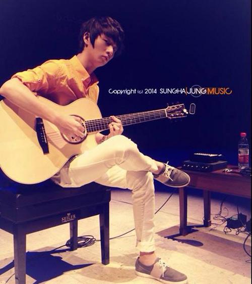 Văn Mai Hương hát cùng thần đồng guitar xứ Hàn - 1