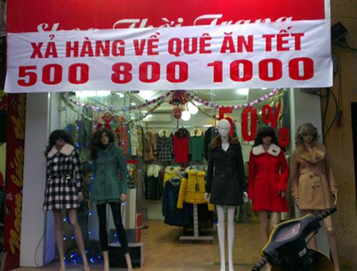 Shop thời trang heo hút mùa lễ Tết - 1