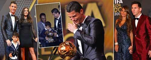 """""""Đáng lẽ Ronaldo đã có 3 QBV như Messi"""" - 1"""