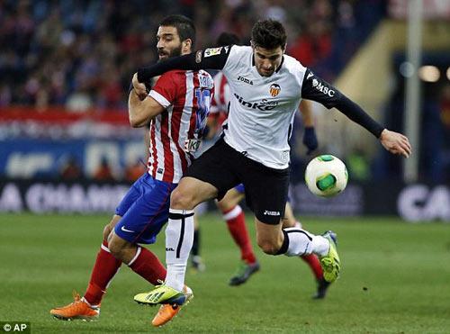 "Atletico-Valencia: ""Chết"" bởi phạt góc - 1"