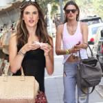 Thời trang - Mãn nhãn với túi xách của Alessandra Ambrosio