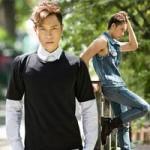 Thời trang - Chàng công sở điệu đà với áo jeans, quần rách