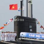 Tin tức trong ngày - Lễ tiếp nhận tàu ngầm HQ-182 Hà Nội