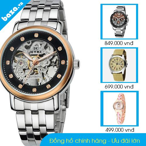 Đồng hồ chính hãng ưu đãi lớn tại Baza.vn - 2