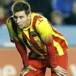 Bóng đá - Messi kéo dài cơn khô hạn tại Liga