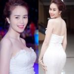 Thời trang - Hot girl Sài Gòn phô làn da trắng nõn