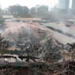 Tin tức trong ngày - Chùm ảnh: Hoang tàn sau đám cháy kho hàng