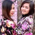 Bạn trẻ - Cuộc sống - Thiếu nữ diện kimono khoe sắc bên hoa đào