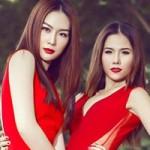Thời trang - Mẫu Việt rực rỡ tông màu chói mắt