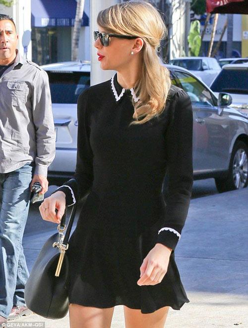 Taylor Swift đổi gu thời trang chóng mặt - 5