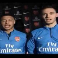 Arsenal chúc tết NHM Việt Nam