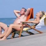 Sức khỏe đời sống - Phơi nắng chữa cao huyết áp