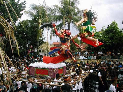 Ngày tết Nyepi không âm thanh ở Indonesia - 2