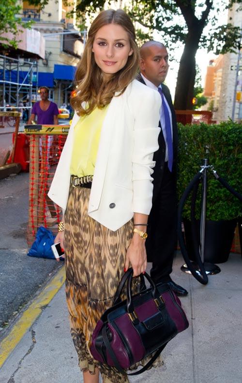 Thèm thuồng ngắm túi xách của Olivia Palermo - 2