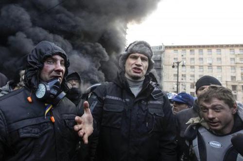Ukraine: Biểu tình có nguy cơ thành đảo chính - 1
