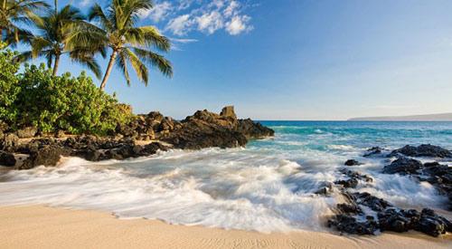 Bãi biển cát đen kỳ lạ ở Hawaii - 7