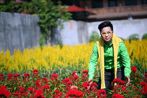 Quách Tuấn Du lạc giữa vườn hoa xuân - 6