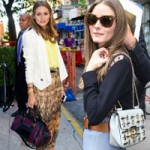 Thời trang - Thèm thuồng ngắm túi xách của Olivia Palermo