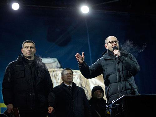 """Tổng thống Ukraine """"tự sát về chính trị"""" - 1"""